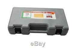 10 Ton Hydraulic Heavy Duty Power Car Van Jack Body Repair Kit Shop Portable