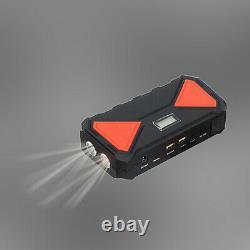 12000mAh Heavy Duty Power Bank Car Jump Starter Booster Battery Charger