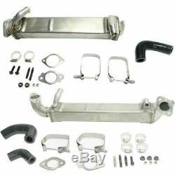 2008-10 Ford 6.4L Heavy Duty Vertical & Horizontal Tube EGR Cooler Kit