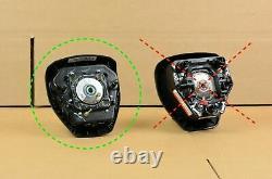 2017-2020 Ford F250 F350 Adaptive Steering Driver Wheel Airbag Black Thin