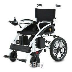 2019 Comfy Go Electric Wheelchair Foldable Lightweight Heavy Duty Power 6009 BK