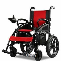 2019 Comfy Go Electric Wheelchair Foldable Lightweight Heavy Duty Power 6009 RED