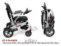 2019 RANGER Pathfinder Lightweight, Heavy Duty, Folding Premium Power Wheelchair
