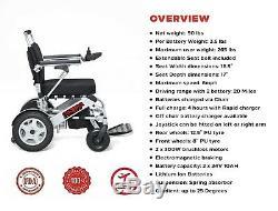 2020 RANGER QUATTRO Deluxe Power Compact Heavy Duty Electric Wheelchair