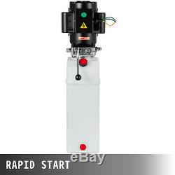220V Car Lift Hydraulic Power Unit Auto Hydraulic Pump Heavy Duty Vehicle 6L