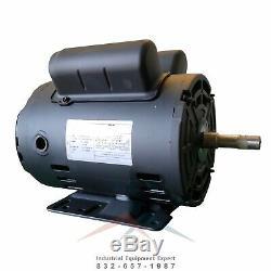 2 HP Horse Power Single Phase Heavy Duty Electric Compressor Motor WEG