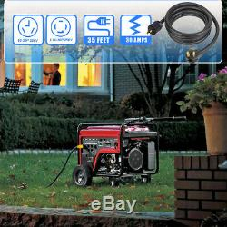 35-ft Electric Back Feed House Male Generator Power Adapter L14-30P TO 10-30P