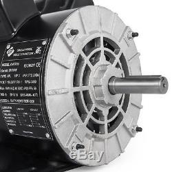 3 HP Horse Power 1 PH Single Phase Heavy Duty Electric Compressor Motor CM03256