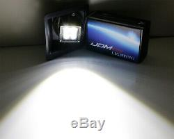 40W CREE LED Pods withFoglight Cover, Bracket Mounts, Relay For 2014-15 GMC 1500