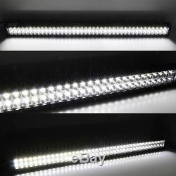 40 Lower Bumper Hidden LED Light Bar Kit withBracket Wire For 03-18 RAM 2500 3500