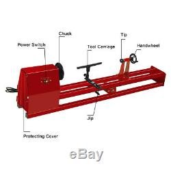 40'' Power Wood Turning Lathe Machine Heavy Duty Industrial Spin Tool 4 Speed