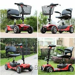 4 Wheels Electric Scooter for Adults Power Mobility Scooter Heavy Duty Seniors
