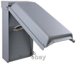 50 Amp Power Inlet Box Twist Lock Outdoor Generator Electrical Plug Receptacle