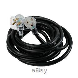 50 Feet 220 Volt 50 Amp Heavy Duty 8/3 Welder Power Extension Cord For MIG TIG