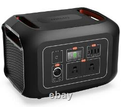 622Wh Portable Power Station Portable Backup Lithium Battery 2 110V 600W
