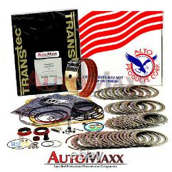 700R4 Transmission Rebuild Kit Alto Heavy Duty 3-4 Power Pack withWIDE Band 87-93