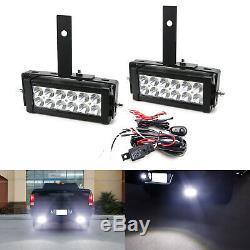 7 LED Light Bars withRear Bumper Mount, Wiring For 09-18 Dodge RAM 1500 2500 3500