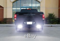 7 LED Light Bars withRear Bumper Mount, Wiring For 09-18 Dodge RAM 1500 2500 3500