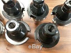 8pcs Power-Cut CAT40-ER16 COLLET CHUCKS Heavy Duty Structure #CAT40-ER16Y