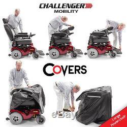 ATLANTIS Heavy Duty Bariatric Power Mobility Wheelchair MERITS P710 + Cover