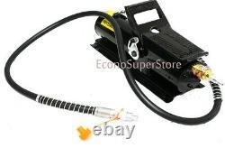 Air Hydraulic Pump 10,000 PSI 10 Ton Porta Power Hydraulic Air Foot Pump Control