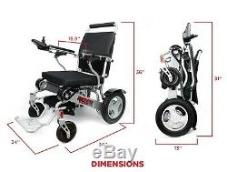 Air Travel Approved Lightweight Heavy Duty Foldable Superior Power Wheelchair