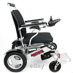 All Terrain Heavy Duty Holds 400 Lbs Sturdy Lightweight Folding Power Wheelchair