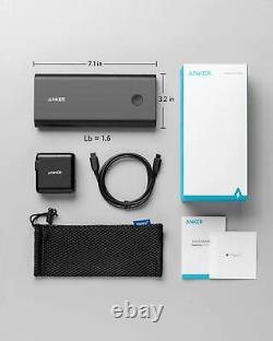 Anker PowerCore+ 26800mAh PD 45W USB C Power Bank with 60W PD Charger Refurbished