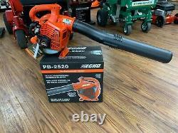 BRAND NEW ECHO PB-2520 Handheld Leaf Blower 170 MPH 25.4 CC Gas 2 Stroke 453 CFM