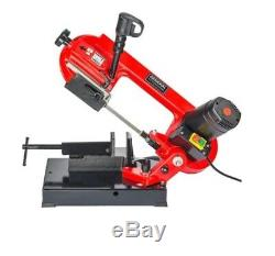 Band Saw Metal-Cutting 4 5A Home Improvement Power Tool Compact Heavy Duty Stee