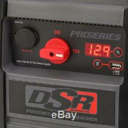 Battery Booster Jump Starter 2200 Peak Amp Power Portable Heavy Duty Truck Cars