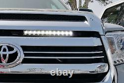 Below Hood Gap LED Light Bar with Mounting Brackets, Wire For 14-17 Toyota Tundra