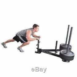 Body Solid GWS100 Heavy Duty WEIGHT SLED Crossfit Power Speed Training Push/Pull