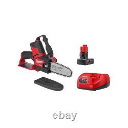 Brushless Cordless Hatchet Pruning Saw Kit Powerful Durable Heavy Duty Light