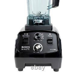 Buchys Magic Heavy Duty Commercial Blender Hi Power Smoothie Blender 3HP 2200W
