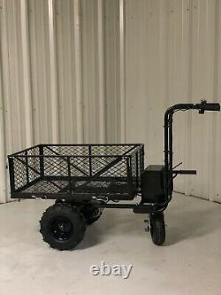 Bulldog Utility Cart Hand Truck Power Wagon Super Duty Electric DC 500W Lithium