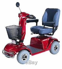 CTM HS-740 Heavy Duty 4 Wheel Power Scooter, Suspension, Full Lighting, FREE SOHO