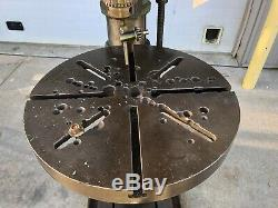 Canedy Otto D2450 Drill press 20 heavy duty with phase converter & power feed