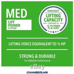 Chain Drive Garage Door Opener Chamberlain 1/2 HP Heavy-Duty MED Lifting Power