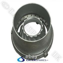 Chinese Wok Cooker Turbo Burner 21 Jet Vortex Heavy Duty Powerful Nat Gas Ring