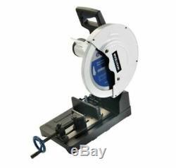 Chop Saw Steel Cutting Power Tool Heavy Duty Cast Aluminum Base Corded 15 in
