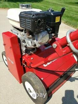 Classen TR-20 20 Lawn De-thatcher Turf Power Rake Honda Motor Excellent Cond