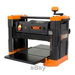 Corded Thickness Planer Sturdy Heavy Duty Base Powerful Power Tool Bench Home
