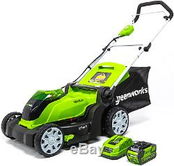 Cordless Lawn Mower (Batteries Included)-High Powered Durable Heavy Duty 40V NEW