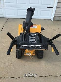 Cub Cadet Two Stage Snow Blower 2X 524 SWE Yellow 2 Foot Scoop, Power Steering
