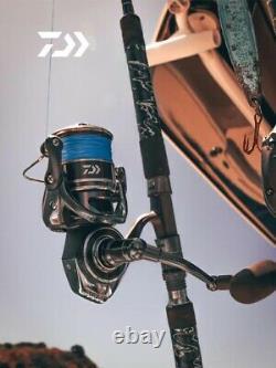 DAIWA BG MQ Spinning Reel 6+1BB Heavy Duty Powerful Saltwater Fishing Reel 2021