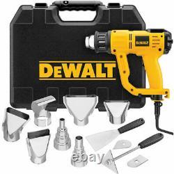 DEWALT D26960K Heavy Duty Heat Gun with LCD Display & Kitbox Brand New