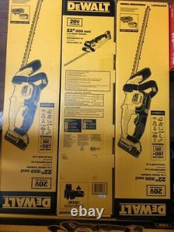 DEWALT DCHT820P1 20-Volt 22-Inch 5Ah Lithium-Ion MAX Hedge Trimmer Kit BRAND NEW