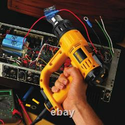 DEWALT Heavy Duty Heat Gun with LCD Display & Kitbox D26960K New