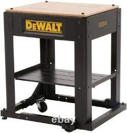 DEWALT Mobile Heavy Duty Thickness Planer Stand Integrated Mobile Base Portable